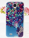 Balloons Wood House Pattern Embossment Back Case for Samsung Galaxy S4 I9500