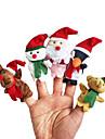 Fantoche de Dedo Brinquedos Desenho Hobbies de Lazer Para Meninos Para Meninas Tecido