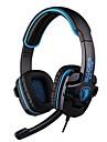 sades SA-708 для наушников 3,5 мм над уха игр с микрофоном и пультом дистанционного управления для ПК