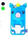 3D 디자인 귀여운 돼지 패턴 아이폰 6 / 6S 용 소프트 케이스 (모듬 색상)