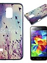 Fly Freely Pattern PC Hard Case for Samsung Galaxy S5 Mini G800