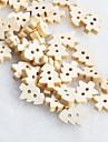 botones de madera diy navidad scrapbook árbol Scraft coser (10 piezas)