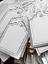 мода цен серебра бумага дисплей тэги (серебро) (500шт)