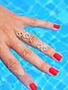 Shixin® Fashion Women's Love Alloy Statement Ring  (Silver)(1 Pc)