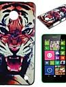 Fierce Tiger Pattern PC Hard Case for Nokia Lumia N630
