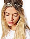 folha de ouro jóias vintage cabelo cadeia cabeça hairband cristal headband accessires jóias cabeça