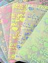 флуоресцентный эффект я lvoe вы шаблон papercranes оригами материалы (10 страниц / 1 цвет / пакет случайный цвет)