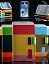 Elegant Bright Color PU Full Body Case Stand Case for Samsung S3 I9300 (Assorted Colors)