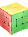 GUOMENG New Stickerless Concave Type Smooth 3x3x3 Magic Cube