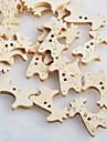 botones de madera del libro de recuerdos jirafa Scraft coser (10 piezas)