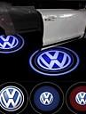 reallink ® для Volkswagen Логотип автомобиля привело знак двери приветственный свет шага землю проектирование лампа двери автомобиля световой парковка