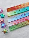 градиентные блестящие Lucky Star оригами материалы (80 страниц / пакет случайный цвет)