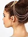 franjas acessórios de cabelo clipe de borda