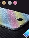 brilhando projeto pó de diamante filme protetor de corpo inteiro para o i9500 Samsung Galaxy S4