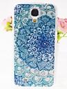 지르콘 꽃 패턴은 삼성 갤럭시 S4 i9500를위한 케이스를 다시 엠보싱