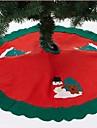 90 см фартук Санта-Клауса Рождественская елка (ассорти цветов)