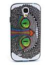 Pour Samsung Galaxy Coque Antichoc / Motif Coque Coque Arrière Coque Chouette Polycarbonate Samsung S4