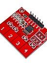 Кейс-ttp224 4-канальный цифровой модуль емкостной сенсор сенсорное управление - красный