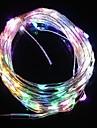 10м 9.6W 100-главе пяти цвет светло-рождественские флэш полосы света лампы (DC 12V)