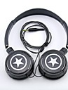 spc06 звезды логотип для стереонаушников 3,5 мм разъем над ухом для mp3 / телефонов / ПК