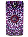 Round Pattern TPU Soft Cover for Galaxy Note 3 Lite