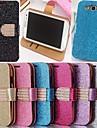 Pour Samsung Galaxy Coque Porte Carte Avec Support Clapet Coque Coque Intégrale Coque Brillant Cuir PU pour Samsung S3