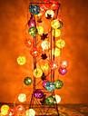 장식 jiawen®가 4m 20leds RGB LED 등나무 공 문자열 조명 크리스마스 문자열 조명 (AC 110-220V)