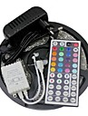 Led Strip Lights Kit 3528 5M 300leds RGB 60leds/m 44key Ir Controller and 3A Power Supply AC100-240V