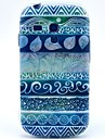 용 삼성 갤럭시 케이스 패턴 케이스 뒷면 커버 케이스 기하학 패턴 TPU Samsung S3 Mini