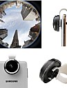 Universal Detachable Super 235 Degree Fisheye Clip Lens for Samsung Phone/iPhone/HTC/SONY and Other Phones