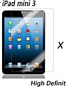 [2-Pack] Premium High Definition Clear Screen Protectors for iPad mini 3
