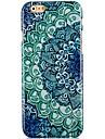 голубой и белый фарфор рисунок жесткий футляр обратно для iPhone 6 Plus