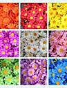 Искусственные цветы для декорации центра стола, 4 см, 50шт., 10 цветок