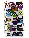 아이폰 3G / 3GS를위한 만화 고양이 패턴 하드 케이스