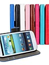 Crazy Horse Leather Wallet Flip Case with Card Holder And Stand Function for Samsung S3 I9300
