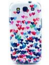 용 삼성 갤럭시 케이스 패턴 케이스 뒷면 커버 케이스 심장 TPU Samsung S3