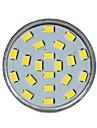 gu10 7W 21 СМД 5730 450 лм теплый белый MR16 декоративные светодиодные прожектор AC 220-240