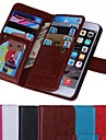 wallet  Pattern Full Body Cover for iPhone 6 (Assorted Colors)