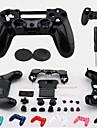 замена крышки защитный чехол + аксессуары + кнопка защитник + силиконовый чехол для PS4 беспроводной контроллер