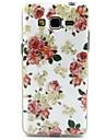 용 삼성 갤럭시 케이스 패턴 케이스 뒷면 커버 케이스 꽃장식 TPU Samsung Grand Neo