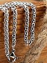 Ожерелье Ожерелья-цепочки Бижутерия Свадьба Для вечеринок Повседневные Новогодние подарки Others Уникальный дизайн Мода Титановая сталь