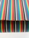 16 코어 케이블 40P 색깔의 드레스 리허설 (0.5M)