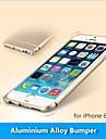 protetora de liga de alumínio caso pára-choques moldura de metal para iphone 6 (cores sortidas)