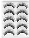 New 5 Pairs Natural Black Long Thick False Eyelashes Tender Eyelash Eye Lashes for Eye Extensions
