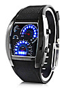 Presente personalizado Homens Relógio Digital / LED com Liga material da Caixa Borracha Banda Relógio Esportivo