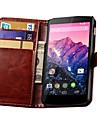 Retro PU Leather Wallet Case for Google Nexus 5 E980 D820 D821 (Assorted Colors)