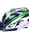 fjqxz 18 Вентс EPS + PC зеленый и черный целое формованием велосипедный шлем (56-63cm)