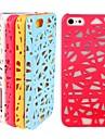 shell proteção do telefone do ninho do pássaro para fora Mobile para iPhone 5 / 5s