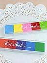 6 цветов радуги Inkpad маркировка для отпечатков пальцев альбом живописи свадебные дети День рождения милостей