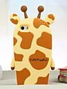 жираф силиконовый чехол Вернуться к IPhone 5/5 секунд (ассорти цветов)